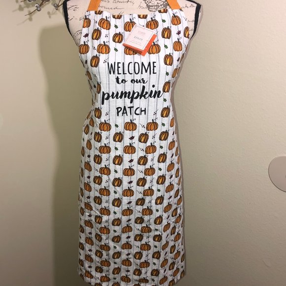 My Little Pumpkin Other - Welcome to our Pumpkin Patch Apron - Halloween